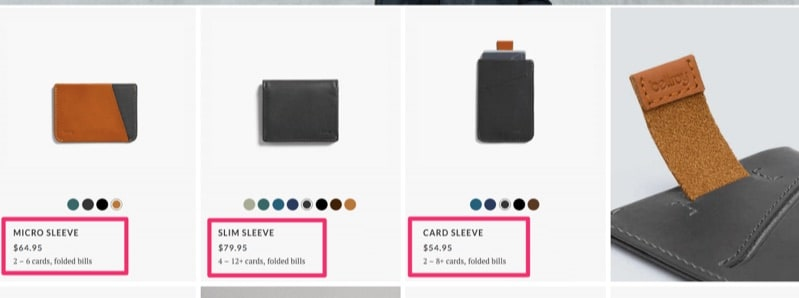 bellroy-product-keyword-variations