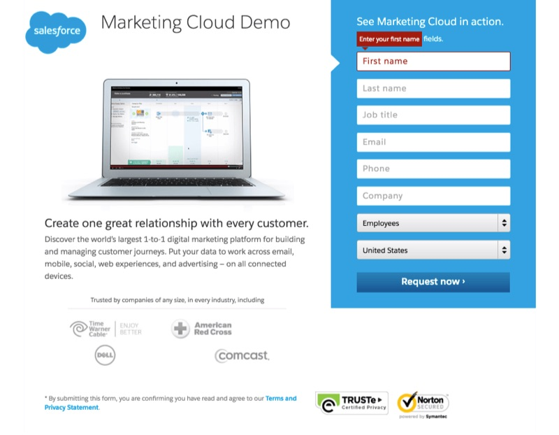 salesforce-trust-seals-on-landing-page