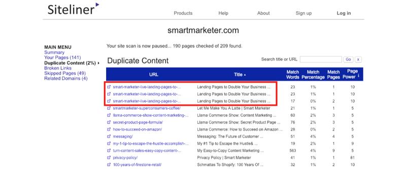 siteliner-check-duplicate-content-2