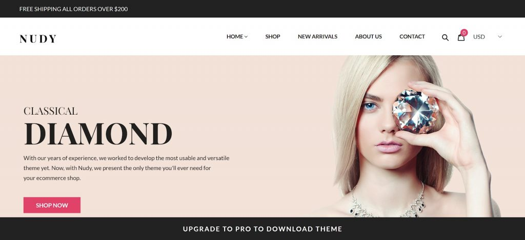 Shopify theme for Print on Demand store: Salehunder