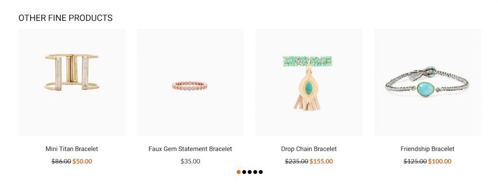 Salehunter Shopify theme examples