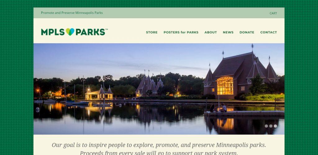 Printful Success Story MPLS Parks