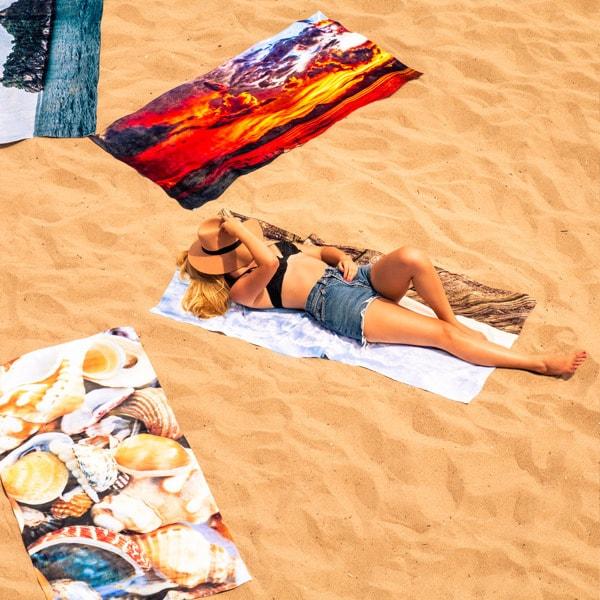 Printful Print on Demand Beach Towels