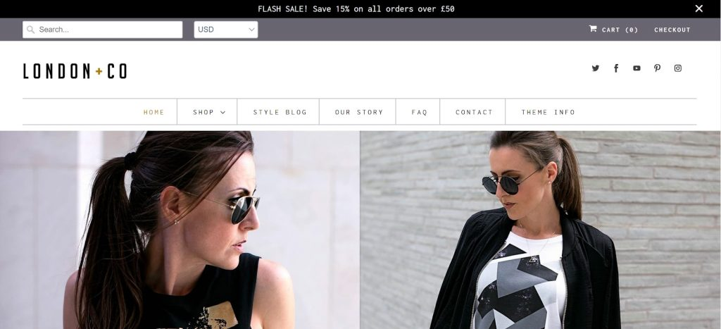 Shopify theme for Print on Demand store: Responsive