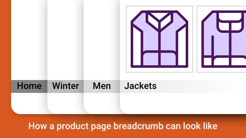 breadcrumb in web design