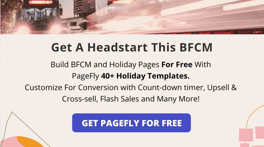 BFCM promotion