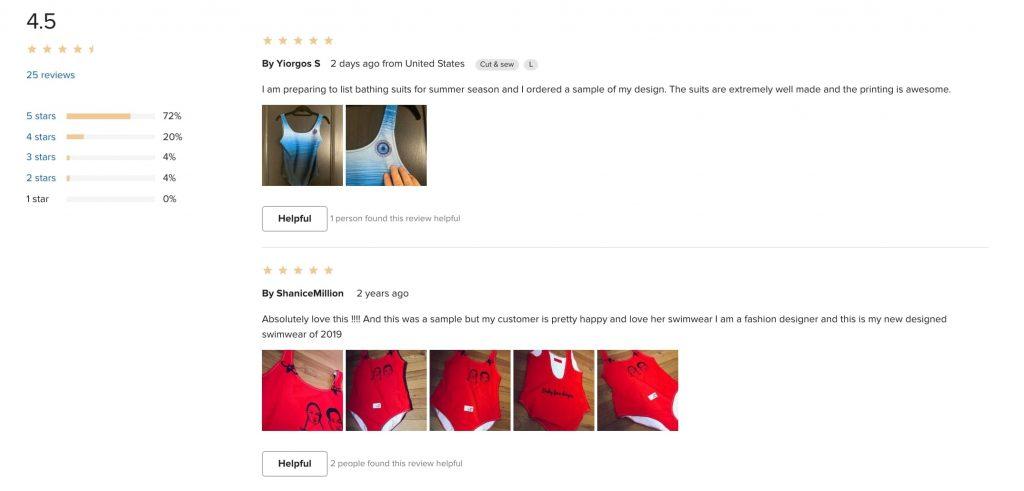 POD beachwear review