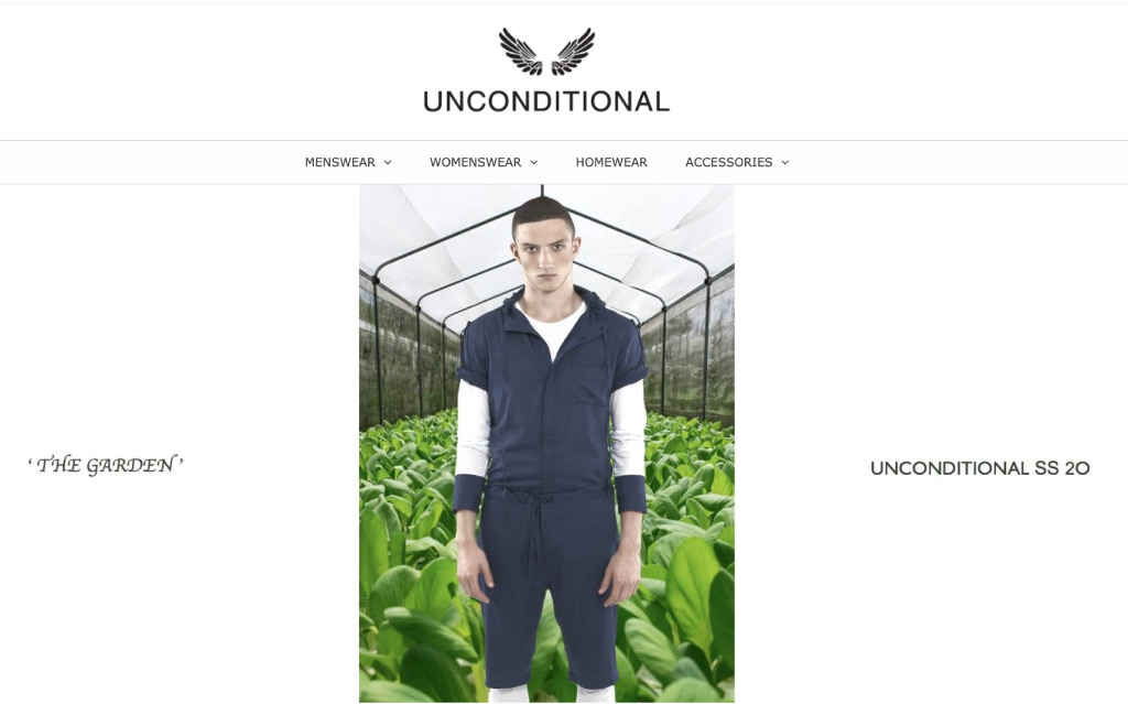 Best shopify clothing store - unconditionals