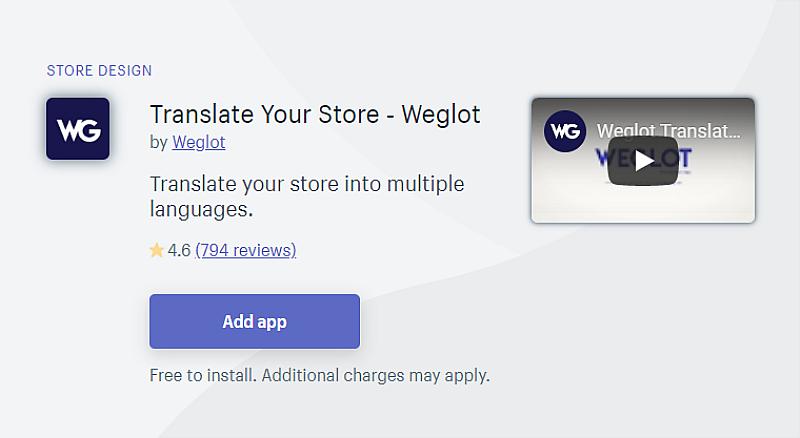 WeGlot Translation App