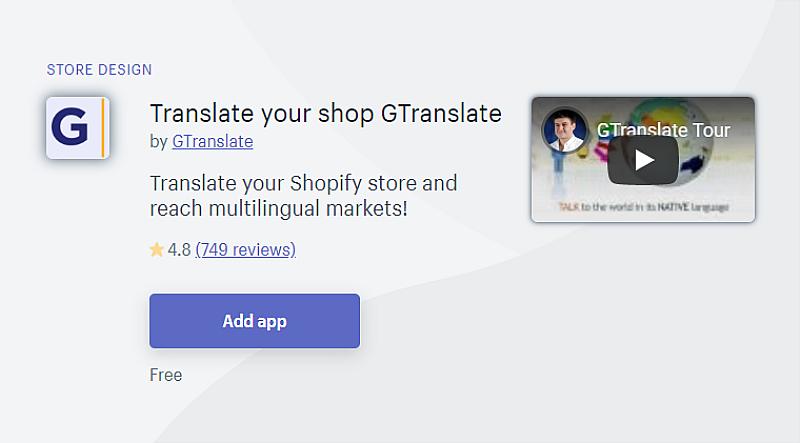 GTranslate App