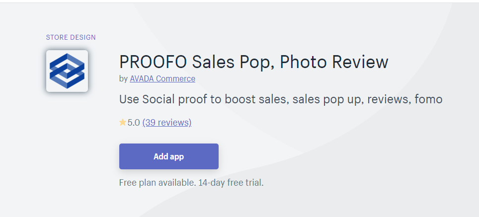 Proofo Review app