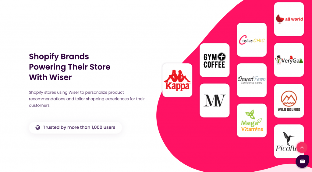 Wiser Upsell Apps powers many Shopify Plus Merchant