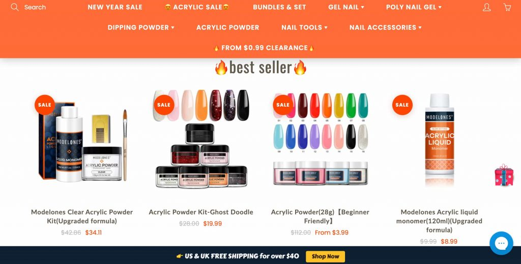 Modelones Dropshipping Stores