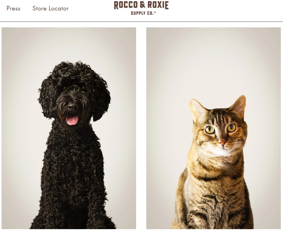 example of good pet supplies product page