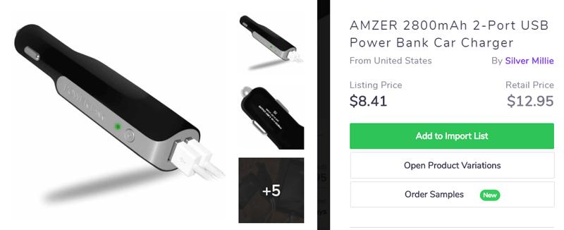 Power bank - popular Black Friday product