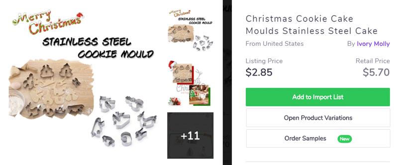 Christmas kitchenware - Holiday sales