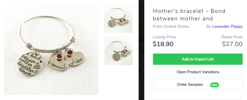 Mother day product ideas to sell online - Shared jewellry