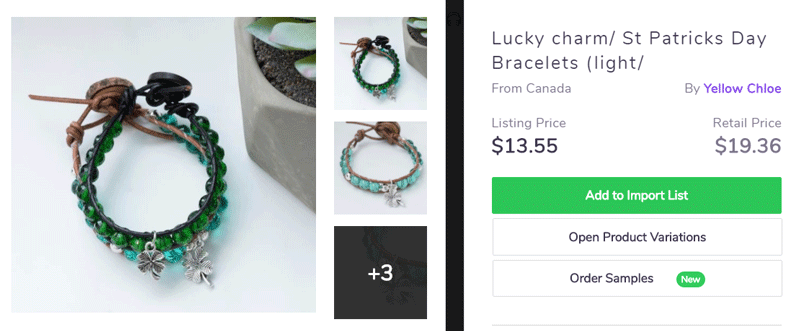 Patrick Day product idea - Bracelets