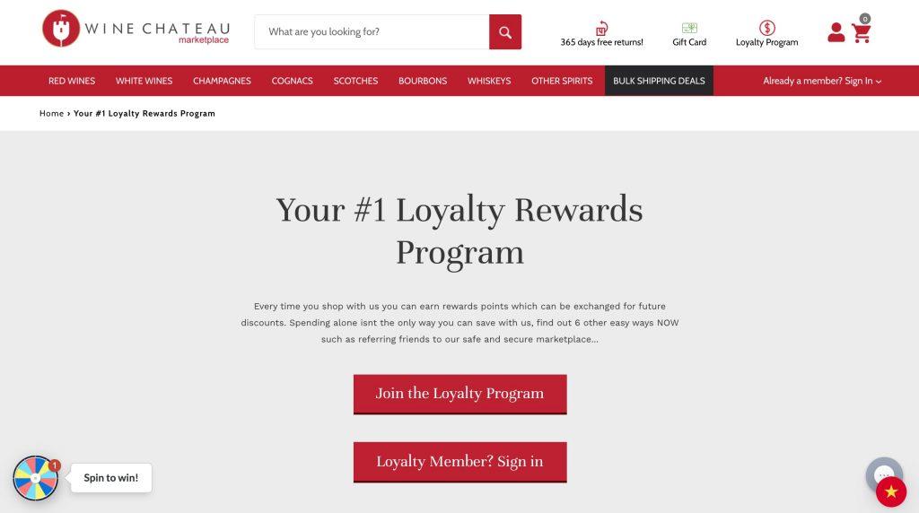 loyalty program example