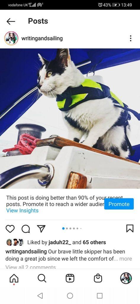 promote insta post