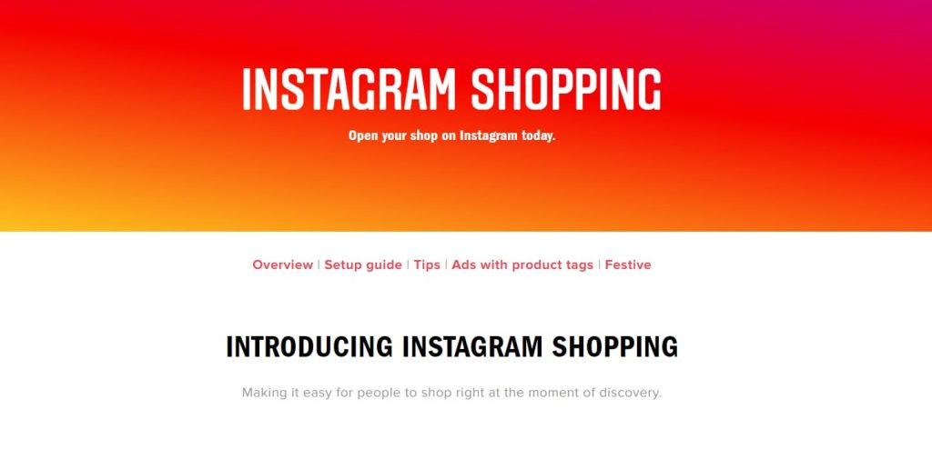 social commerce on instagram