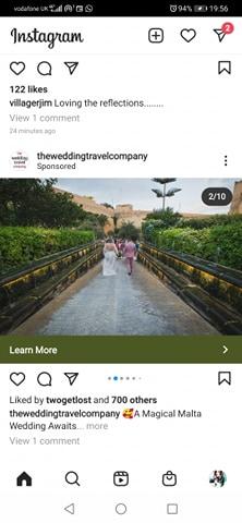instagram ads example